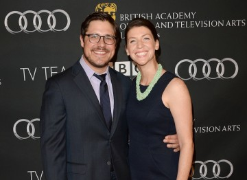 Mad Men actor Rich Sommer and his wife Virginia Donohoe