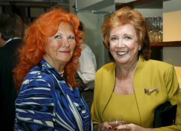 Lady McAlpine and Cilla Black