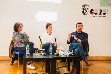 Get on Track: Casting - Simone Pereira Hind, Clare Kerr & host Michael Hines