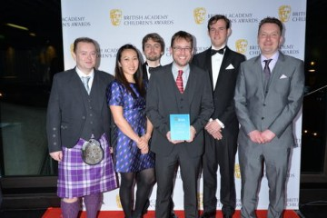Minecraft wins the Kids Vote - Game category at the British Academy Children's Awards in 2015, presented by Bex and Sean from Fun Kids Radio.