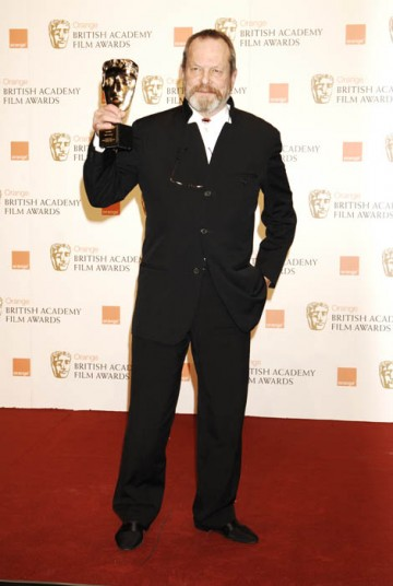 Director and former Monty Python star Terry Gilliam was presented with the Academy's highest Award, the Fellowship (BAFTA/ Richard Kendal).