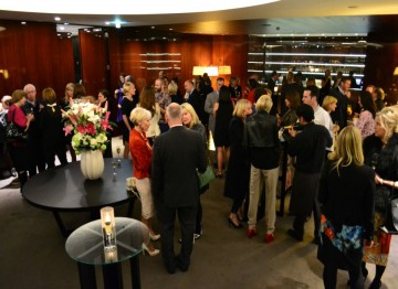 Academy Circle event with Kristin Scott Thomas, Bulgari Hotel, May 2013