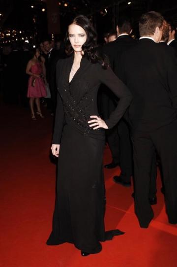 Last year's Orange Rising Star Award winner wore a full-sleeved dress by Dior (pic: BAFTA / Richard Kendal).