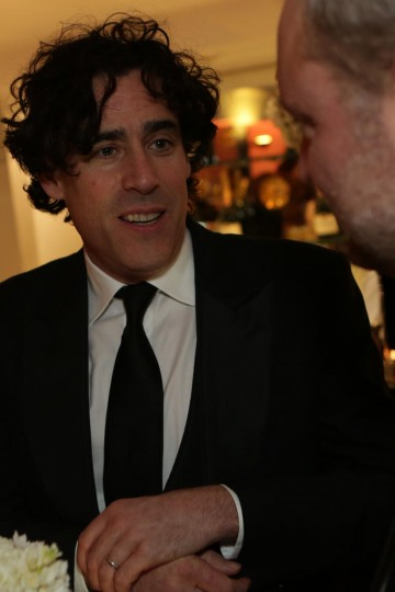 Stephen Mangan at the Gala champagne reception