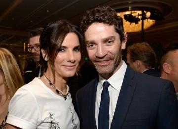 Sandra Bullock and James Frain at the BAFTA LA 2014 Awards Season Tea Party.