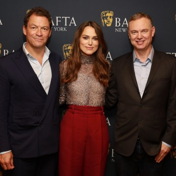 Dominic West, Keira Knightley and Wash Westmoreland