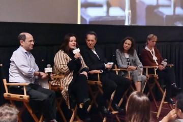 Brian Rose, Melissa McCarthy, Richard E. Grant, Dolly Wells and Anne Carey