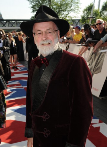 The acclaimed author is nominated in the Single Documentary category for Terry Pratchett: Choosing To Die.