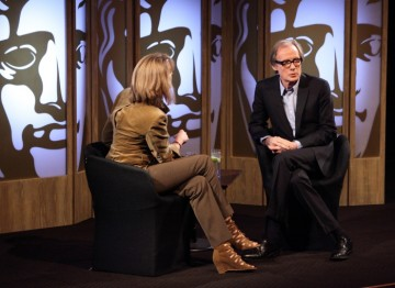 Francine Stock begins the interview with a brief recap of Bill's impressive acting career in Television and Film. (Picture: BAFTA/ J.Simmonds)