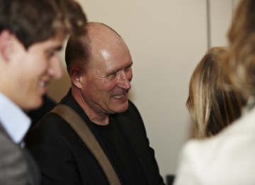 William talks with guests following the Q and A. (Picture: BAFTA / J. Birch)