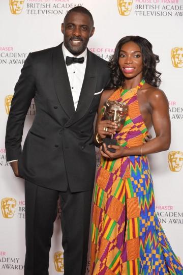 Idris Elba and Michaela Coel