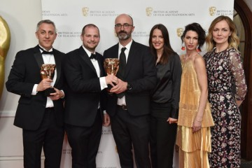 Winners of Special, Visual and Graphic Effects, the One of Us and Molinare team, for The Crown