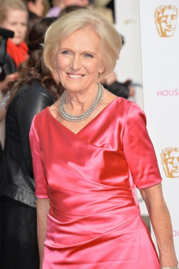The Great British Bake Off star Mary Berry arrives for the House of Fraser British Academy Television Awards