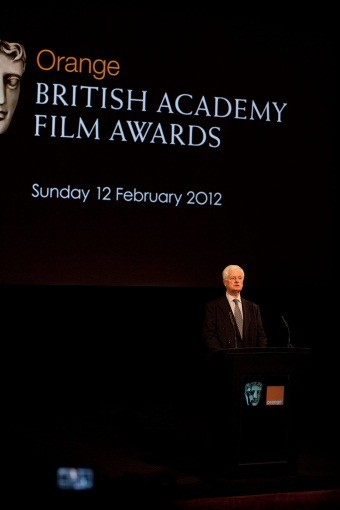 BAFTA Chairman Tim Corrie opens the announcement.