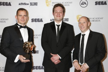 The BAFTA for Original Property was presented by game designer Mike Bithell to the creators of Valiant Hearts.