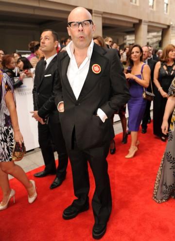 Entertainment Performance nominee Harry Hill, of Harry Hill's TV Burp. (Pic: BAFTA/Richard Kendal)