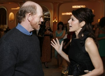 Ron Howard and Marisa Tomei