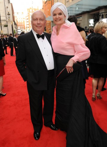 The Downton Abbey creator is nominated in the Drama Series category. (Pic: BAFTA/Richard Kendal)