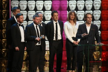 Life And Death Row Production Team accept the award for Factual Series
