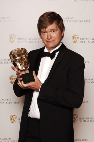 Wayne Derrick claimed the Photography Factual BAFTA for his work on Tribe (Nenets) (pic: BAFTA / Richard Kendal).