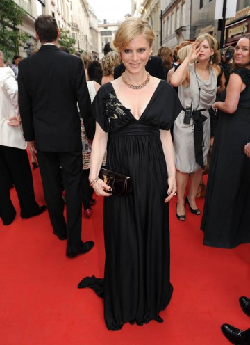 Actress Emilia Fox arrives to present the Supporting Actor BAFTA (BAFTA/Richard Kendal).
