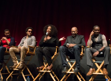 Cuba Gooding, Jr., Lenny Kravitz, Oprah Winfrey, Forest Whitaker and David Oyelowo