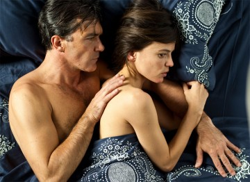 Elena Anaya and Antonio Banderas in The Skin I Live In (2011). ©José Haro
