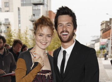 Da Vinci's Demons actors Tom Riley  (Young Leonardo Da Vinci) and Hera Hilmar (Vanessa)