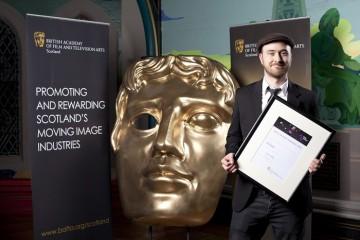 Original Music winner Gareth Griffiths for 'An Interrupted Story'