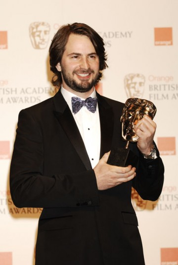 Mark Boal accepts the Original Screenplay award for The Hurt Locker (BAFTA/Richard Kendal).