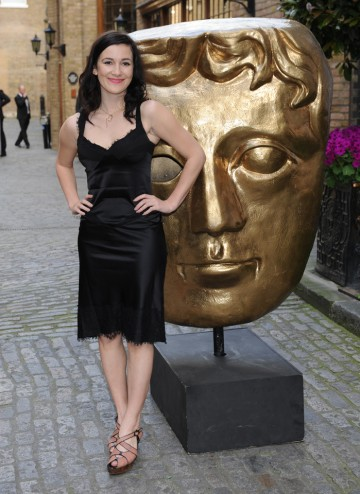 The star of BBC Three sitcom Him & Her arrives arrives at the British Academy Television Craft Awards to present the BAFTA for Digital Creativity.