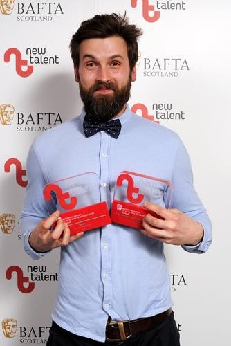 Michal Wdowiak - Winner in the Editor and Writer categories for 'Yogi'
