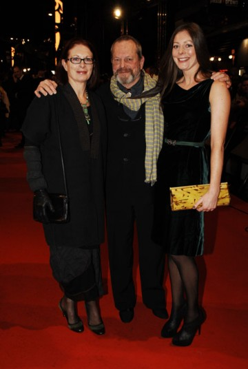 Awarded the prestigious Fellowship at last year's awards, Terry Gilliam arrives to present the award for Outstanding British Contribution To Cinema (BAFTA/Richard Kendal).