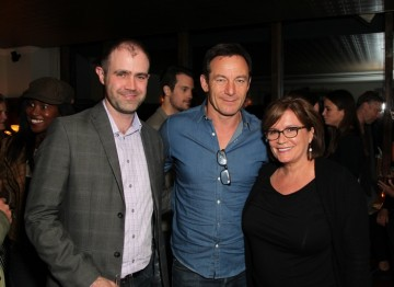 Matthew Wiseman, Jason Isaacs and Karen Arikian