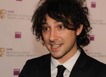 Channel 4 and E4 presenter Alex Zane presented the Use of Audio Award  (BAFTA / James Kennedy).