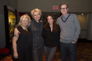 Producer Alison Owen, Emma Thompson, Producer Kelly Marcel and Director John Lee Hancock