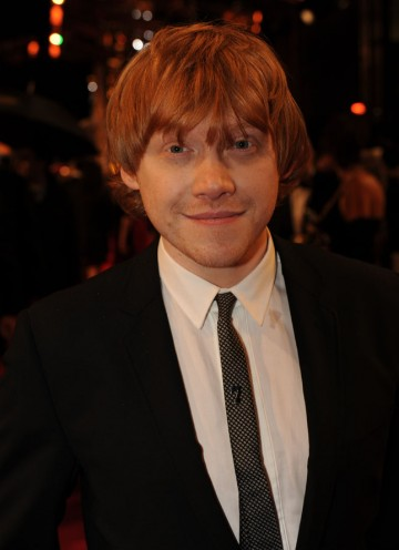 Grint stars as Ron Weasley in the Harry Potter series, which receives this year's Outstanding British Contribution to Cinema award. Grint's suit is by Dolce & Gabbana. (Pic: BAFTA/Richard Kendal)