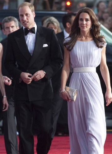 The royal couple on the red carpet