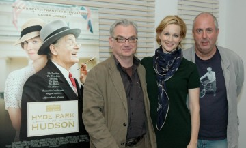 Writer Richard Nelson, Laura Linney and Director Roger Michell