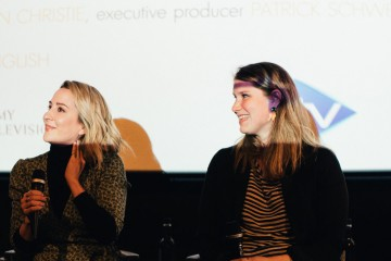 Morven Christie and Sophie Bicknell