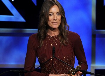 Kathryn Bigelow accepted the John Schlesinger Britannia Award for Excellence in Directing