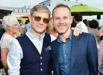 Martin Freeman and Dominic Monaghan