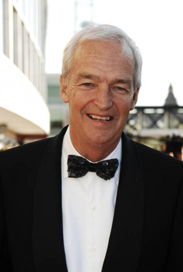 Channel 4 newsreader Jon Snow arrived to present the Specialist Factual category (BAFTA / Richard Kendal).