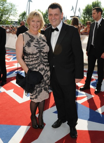 The husband and wife team behind Sherlock, which is up for the YouTube Audience Award.