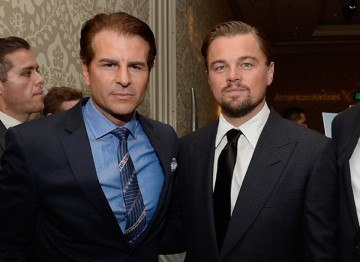 Leonardo DiCaprio and Vincent De Paul at the BAFTA LA 2014 Awards Season Tea Party.