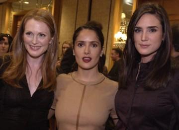 Julianne Moore, Salma Hayek and Jennifer Connelly