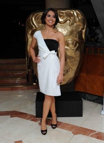 One Show presenter and Television Craft Awards host Christine Bleakley arrives.
