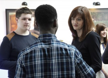 Breakthrough Brits Ade Oyefeso and Dan Pearce talk with BAFTA CEO Amanda Berry