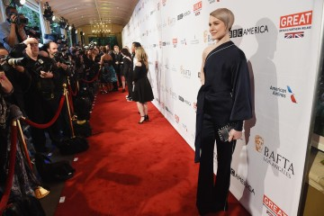 Actress Evan Rachel Wood who stars in Westworld joined BAFTA Los Angeles for the 2017 BAFTA Tea