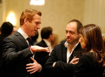 Damian Lewis and Gareth Neame